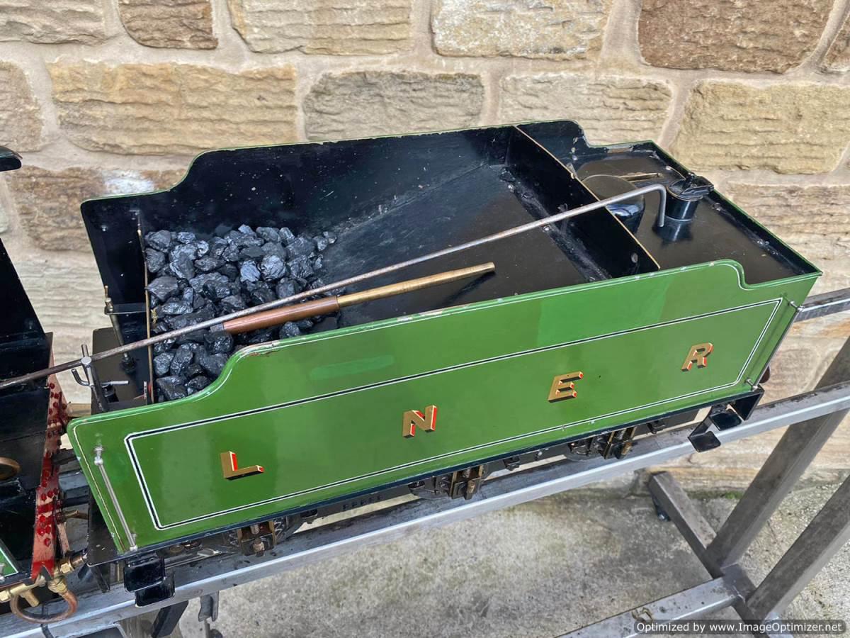 test 5 inch LNER B1 Springbok Live Steam for Sale (19)