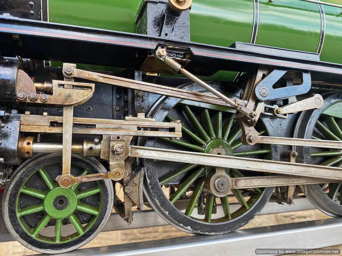 test 5 inch LNER B1 Springbok Live Steam for Sale (2)