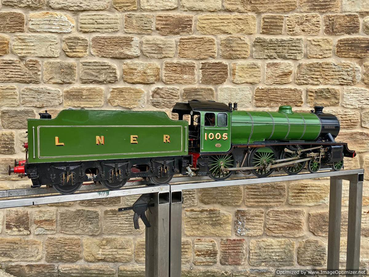 test 5 inch LNER B1 Springbok Live Steam for Sale (20)