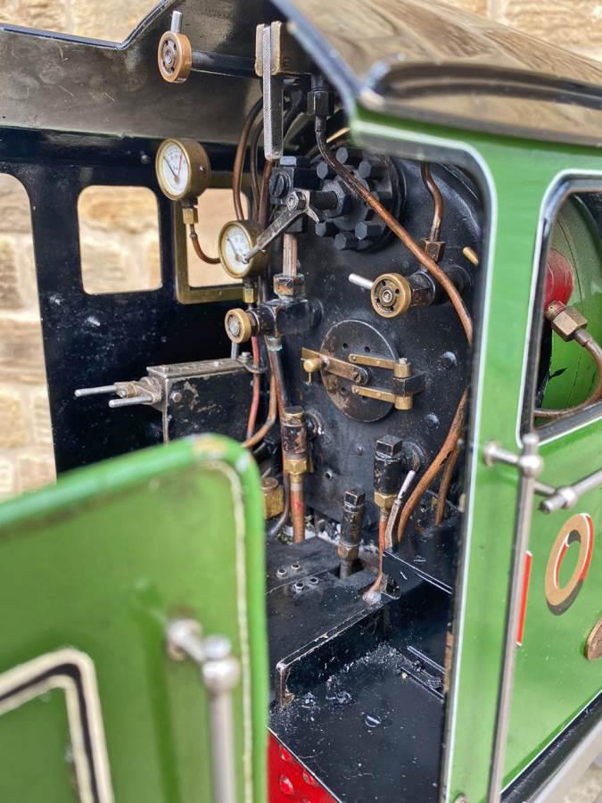 test 5 inch LNER B1 Springbok Live Steam for Sale (22)