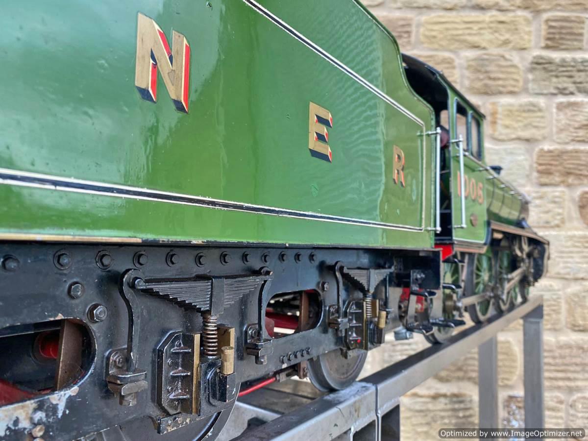 test 5 inch LNER B1 Springbok Live Steam for Sale (23)