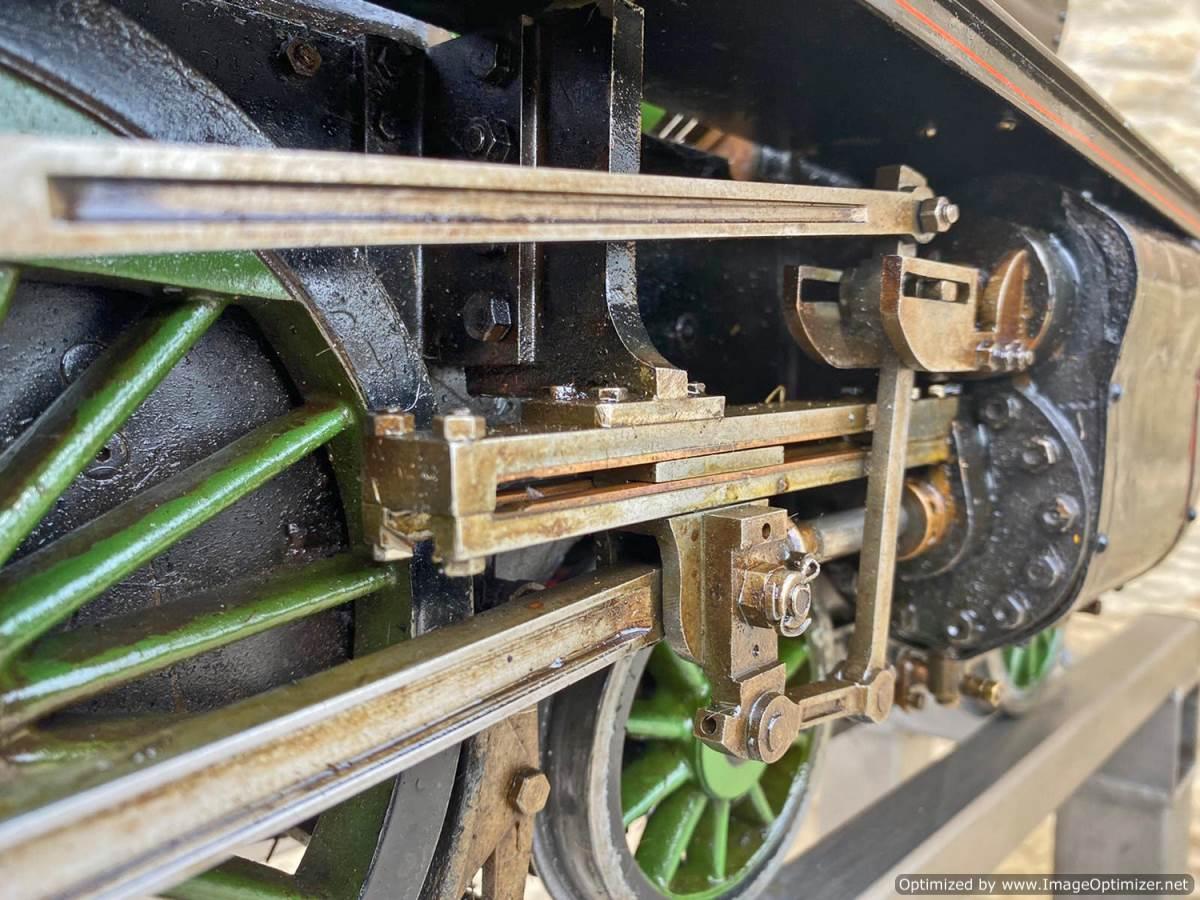 test 5 inch LNER B1 Springbok Live Steam for Sale (24)