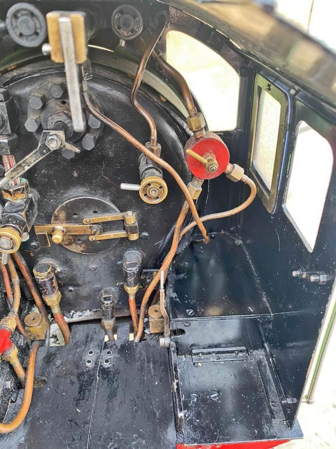 test 5 inch LNER B1 Springbok Live Steam for Sale (26)