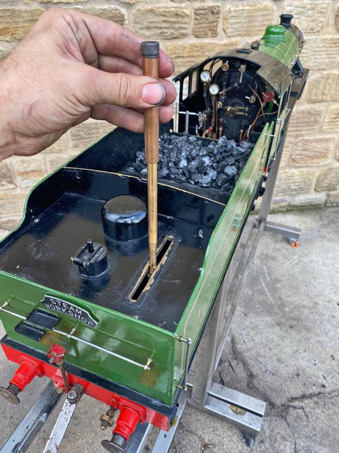 test 5 inch LNER B1 Springbok Live Steam for Sale (27)