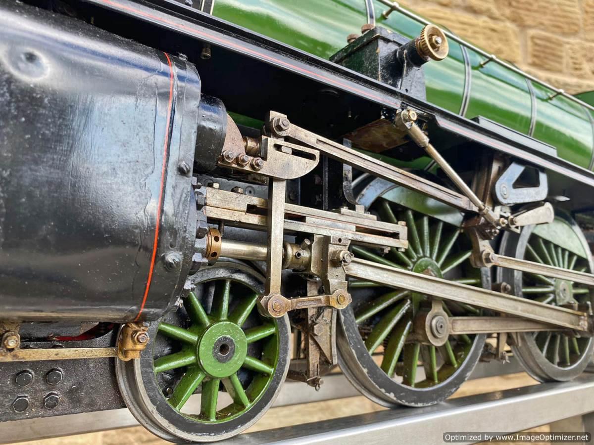 test 5 inch LNER B1 Springbok Live Steam for Sale (3)