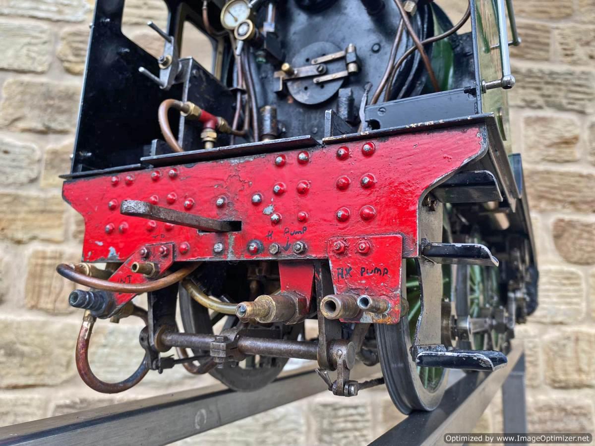 test 5 inch LNER B1 Springbok Live Steam for Sale (30)