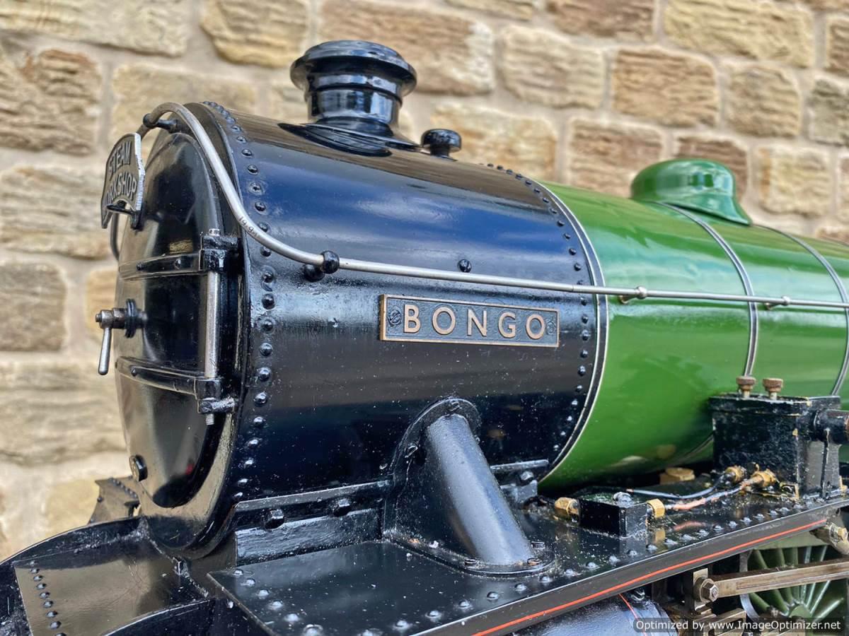 test 5 inch LNER B1 Springbok Live Steam for Sale (4)