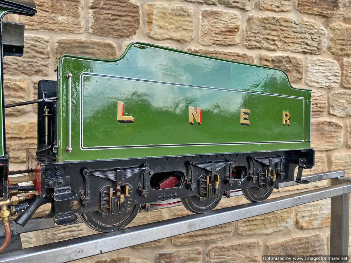 test 5 inch LNER B1 Springbok Live Steam for Sale (6)