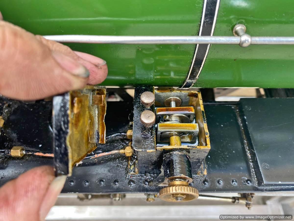 test 5 inch LNER B1 Springbok Live Steam for Sale (7)