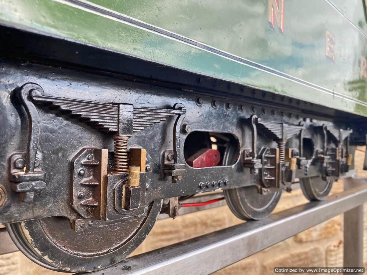 test 5 inch LNER B1 Springbok Live Steam for Sale (9)