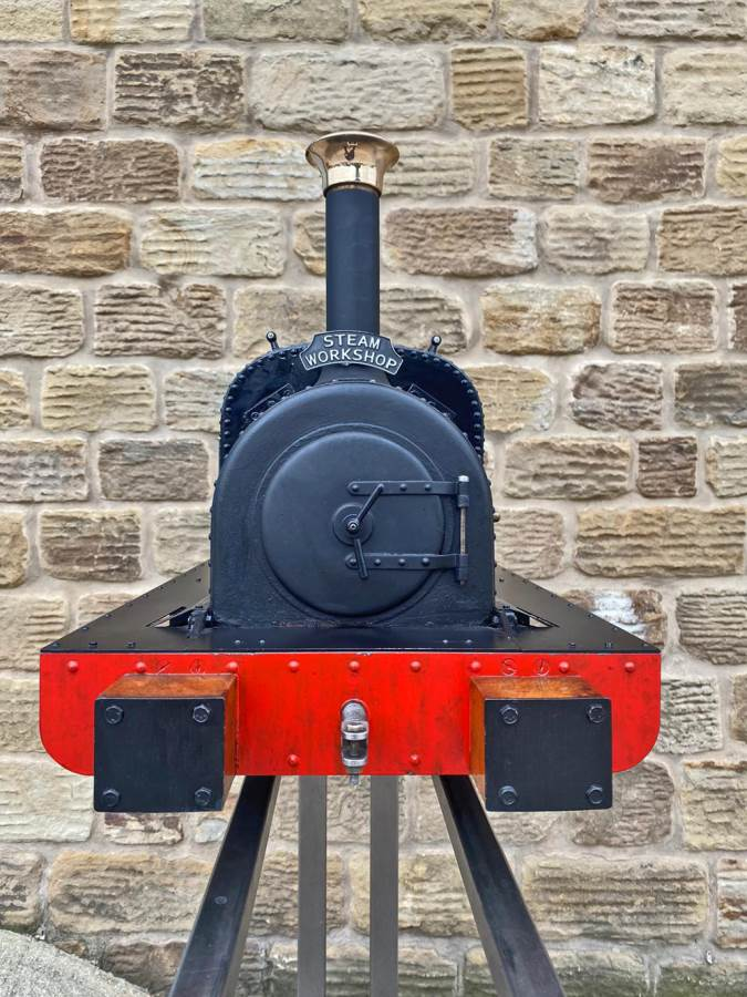test 5 inch Quarry Hunslet Live Steam For Sale (10)