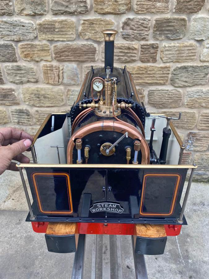 test 5 inch Quarry Hunslet Live Steam For Sale (21)