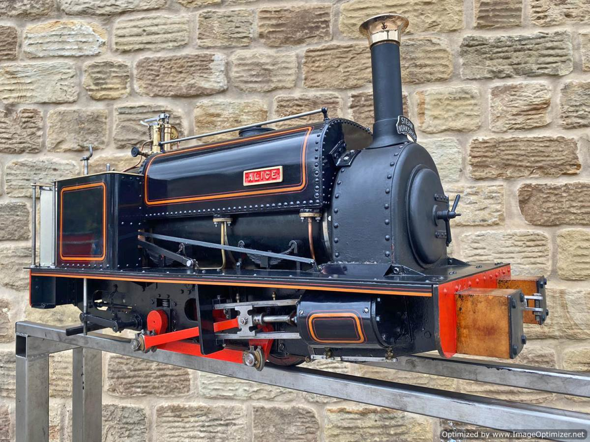 test 5 inch Quarry Hunslet Live Steam For Sale (3)