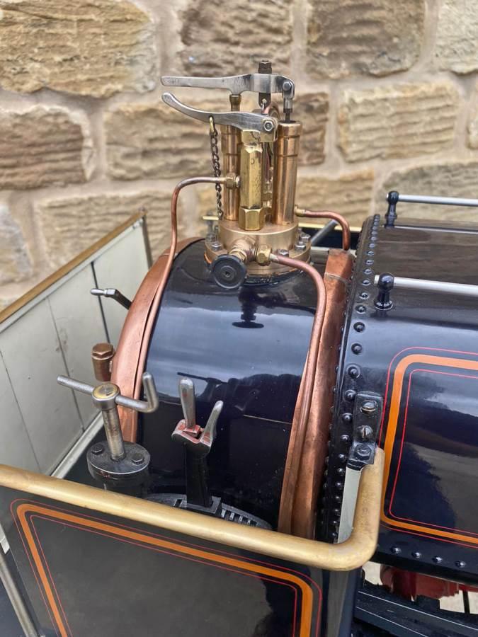test 5 inch Quarry Hunslet Live Steam For Sale (4)