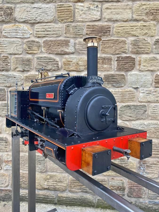 test 5 inch Quarry Hunslet Live Steam For Sale (6)