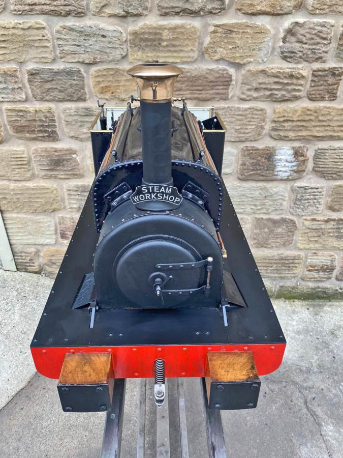 test 5 inch Quarry Hunslet Live Steam For Sale (9)