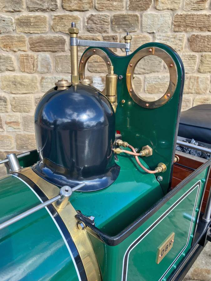 test 7 and a quarter Heywood Duffield Bank Effie Live Steam Locomotive For Sale (10)