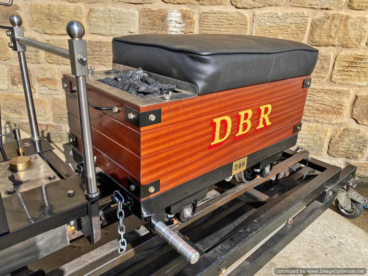 test 7 and a quarter Heywood Duffield Bank Effie Live Steam Locomotive For Sale (14)