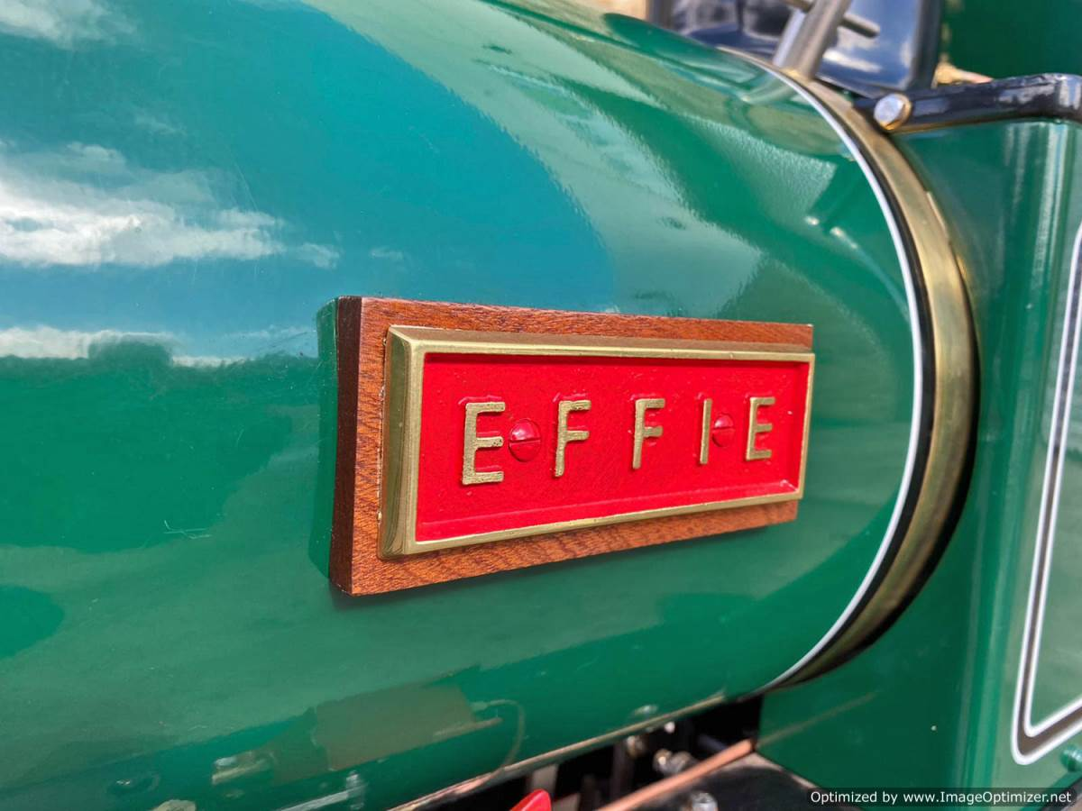 test 7 and a quarter Heywood Duffield Bank Effie Live Steam Locomotive For Sale (5)