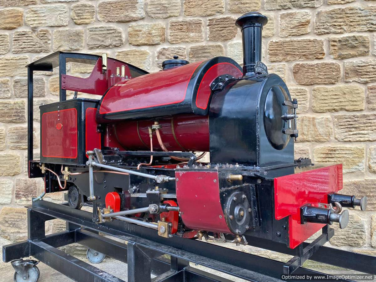 test 7 and a quarter Kerr Stuart Tattoo Hunslet Live Steam Locomotive for sale (1)