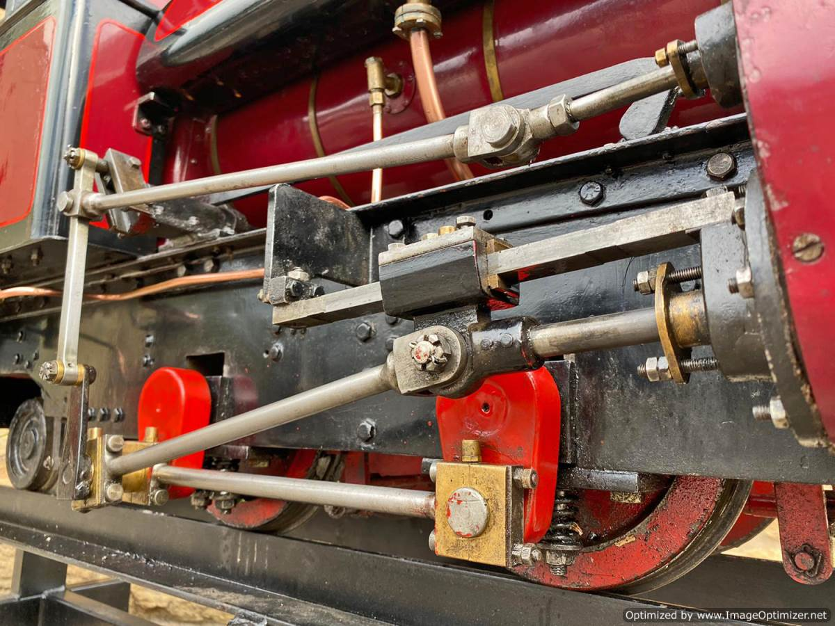 test 7 and a quarter Kerr Stuart Tattoo Hunslet Live Steam Locomotive for sale (10)
