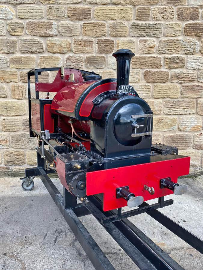 test 7 and a quarter Kerr Stuart Tattoo Hunslet Live Steam Locomotive for sale (14)