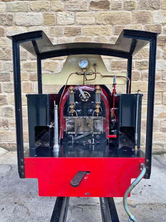 test 7 and a quarter Kerr Stuart Tattoo Hunslet Live Steam Locomotive for sale (15)