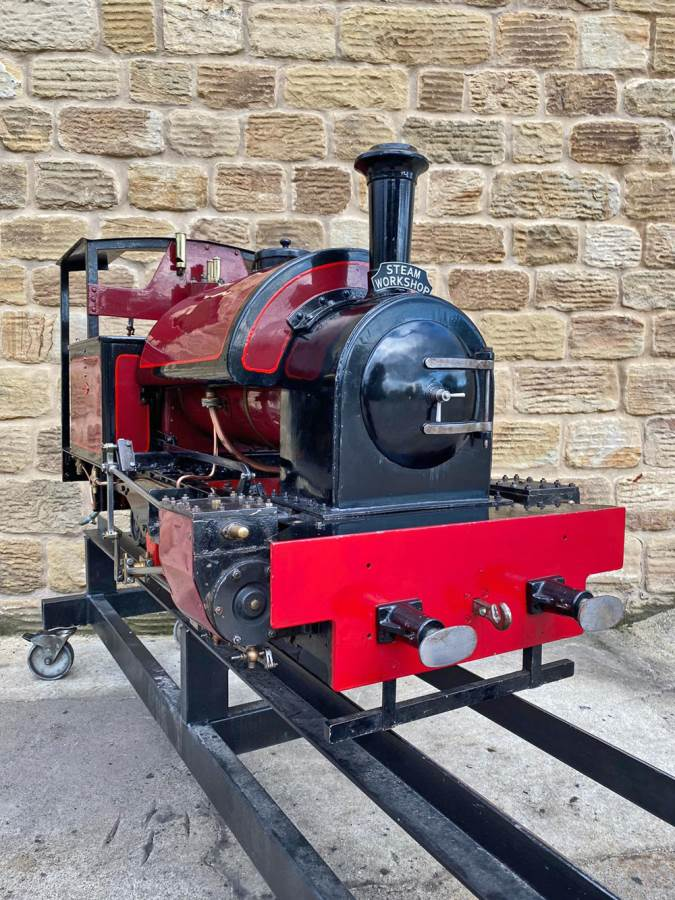 test 7 and a quarter Kerr Stuart Tattoo Hunslet Live Steam Locomotive for sale (18)