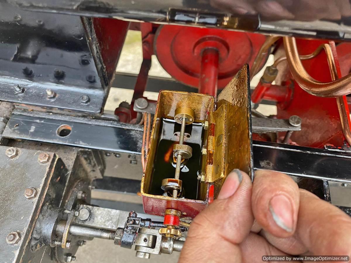test 7 and a quarter Kerr Stuart Tattoo Hunslet Live Steam Locomotive for sale (19)