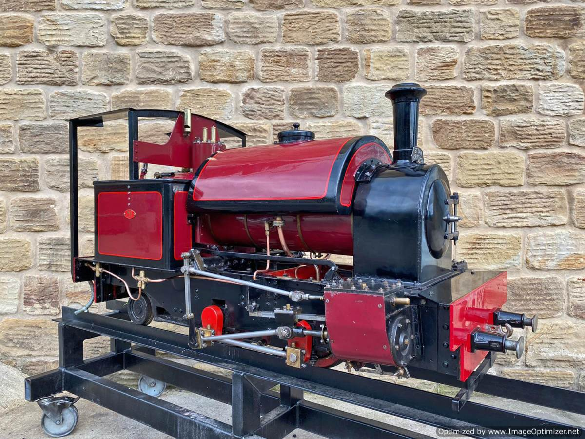 test 7 and a quarter Kerr Stuart Tattoo Hunslet Live Steam Locomotive for sale (2)