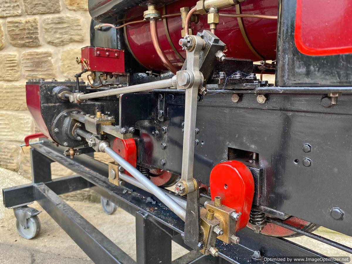 test 7 and a quarter Kerr Stuart Tattoo Hunslet Live Steam Locomotive for sale (20)