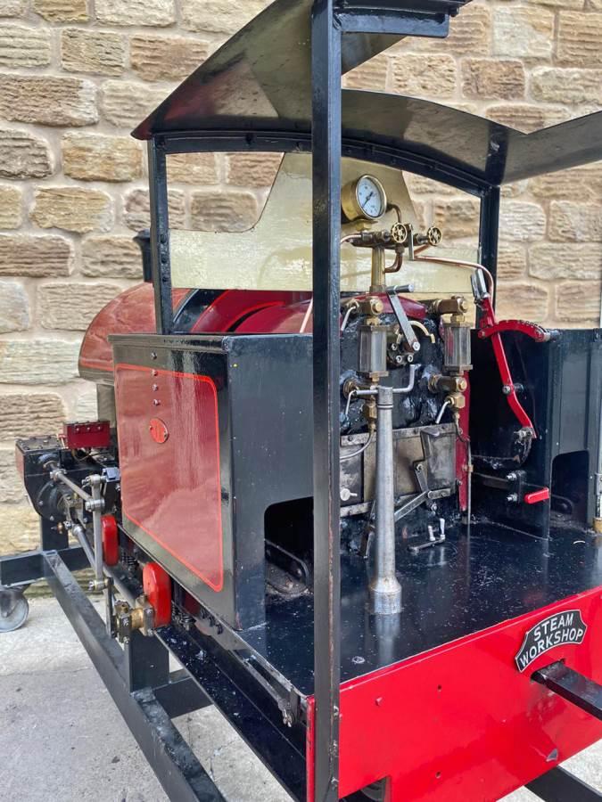 test 7 and a quarter Kerr Stuart Tattoo Hunslet Live Steam Locomotive for sale (22)
