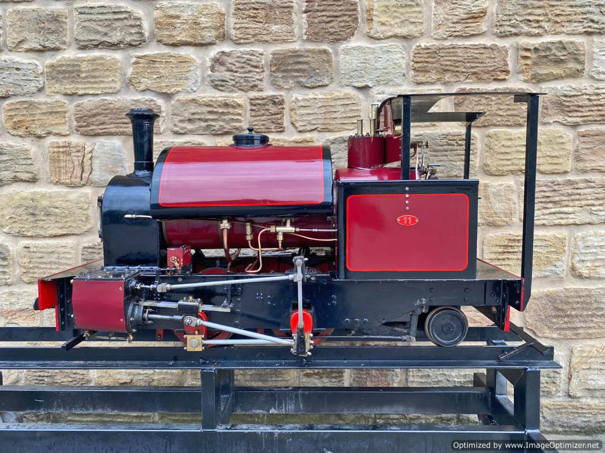 test 7 and a quarter Kerr Stuart Tattoo Hunslet Live Steam Locomotive for sale (24)