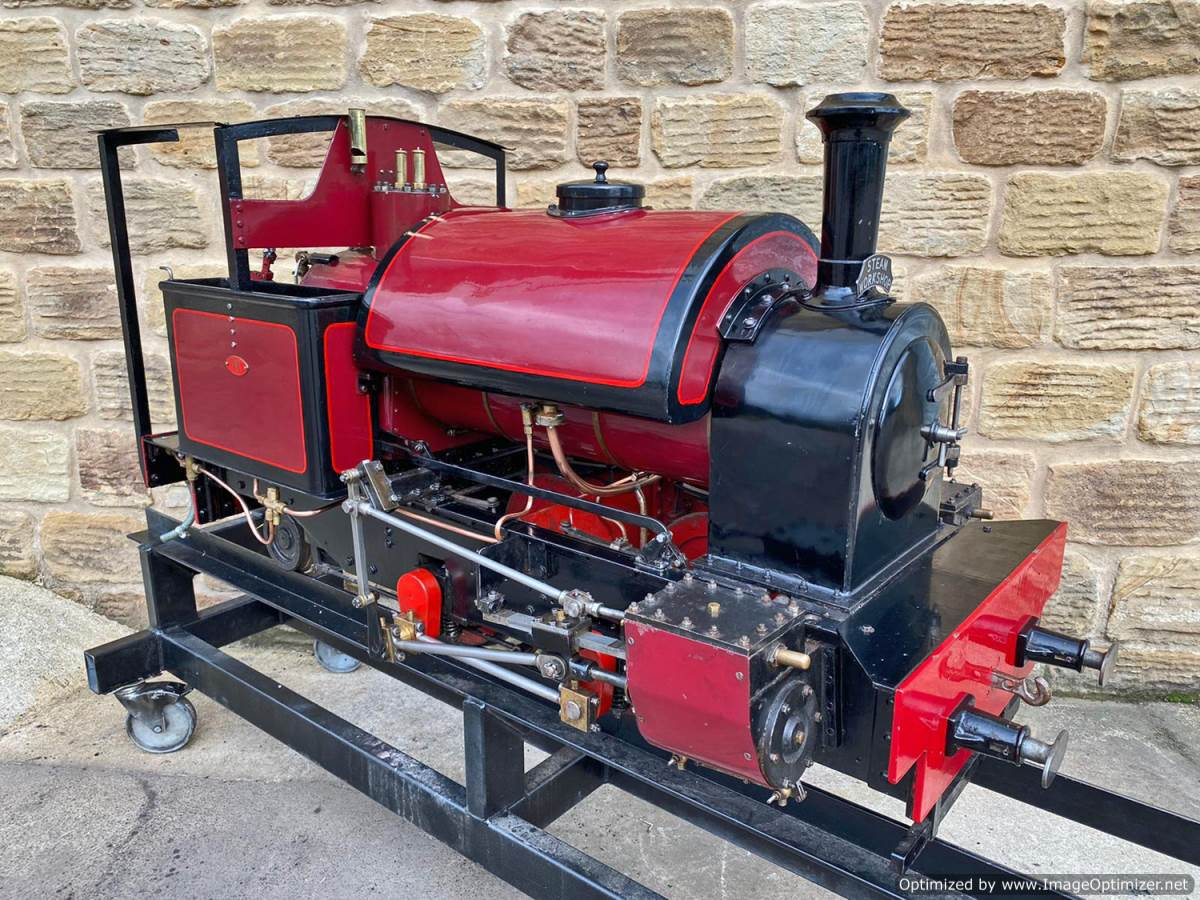 test 7 and a quarter Kerr Stuart Tattoo Hunslet Live Steam Locomotive for sale (4)