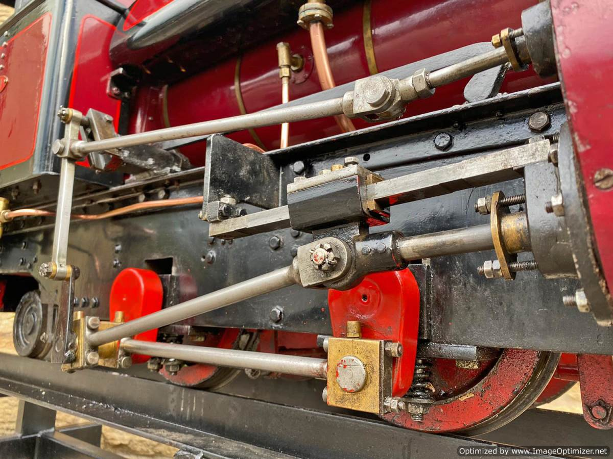 test 7 and a quarter Kerr Stuart Tattoo Hunslet Live Steam Locomotive for sale (6)