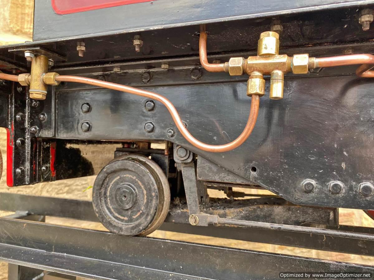 test 7 and a quarter Kerr Stuart Tattoo Hunslet Live Steam Locomotive for sale (9)